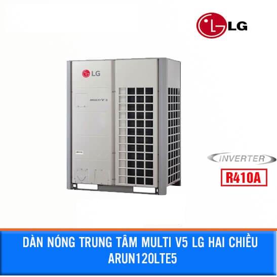 Dàn nóng điều hòa trung tâm LG MULTI V5 LG 12HP 2 Chiều ARUN120LTE5