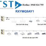Nguyên lý và các chức năng hoạt động của hệ thống điều hòa trung tâm VRV