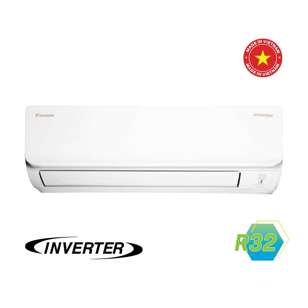 Điều Hòa Treo Tường Daikin Inverter 2 Chiều 11.900 BTU