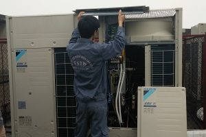 Cách lắp đặt dàn lạnh điều hòa trung tâm VRV Daikin