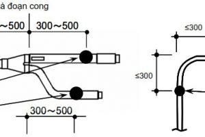 Hướng dẫn lắp đặt điều hòa trung tâm dạng ti treo đỡ các đường ống