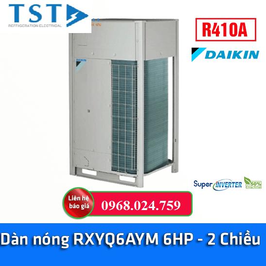 Dàn Nóng VRV-H Daikin Loại Tiêu Chuẩn RXYQ6AYM 6hp 2 Chiều